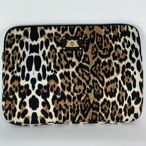 """Juicy Couture Leopard Sleeve for 13"""" Laptop"""